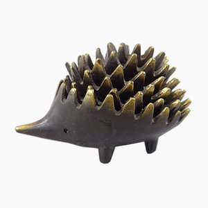 Hedgehog Ashtrays by Walter Bosse, 1950s, Set of 6