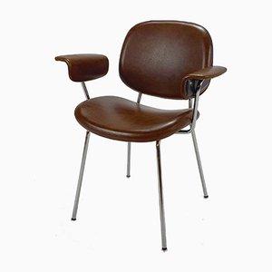 Mid-Century Dutch Minimalistic Chair, 1950s