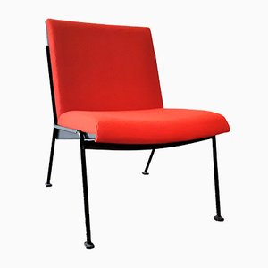 Red Oase Lounge Chair by Wim Rietveld for Ahrend de Cirkel