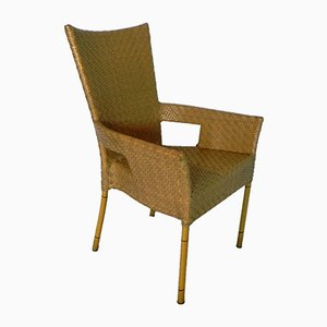 Vintage Synthetic Rattan Chair from Schonhuber Franchi