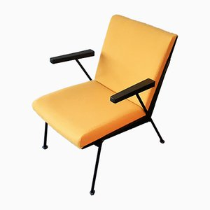 Yellow Oase Lounge Chair by Wim Rietveld for Ahrend De Cirkel