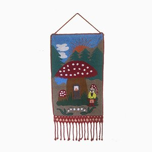 Woven Little Red Riding Hood Tapestry