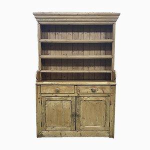 Victorian English Dresser in Fir, 19th Century