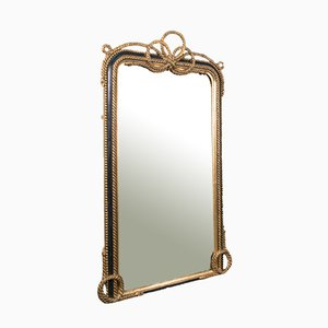 Large Antique English Wall Mirror