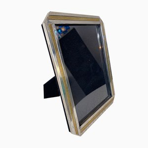 Italian Brass and Metal Picture Frame. 1970s