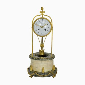 Clock in the Shape of a Well by Lechopié, Paris, Late 1700s