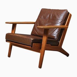 GE290 Lounge Chair by Hans J. Wegner for Getama