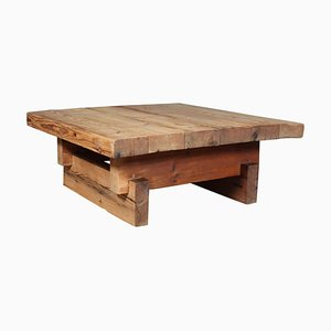 Wood Factory Coffee Table by Jens Lyngsøe for Havdrup