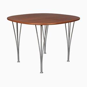 Café Table by Piet Hein & Bruno Mathsson for Fritz Hansen
