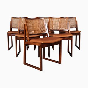 Dining Chairs by Kai Lyngfeldt Larsen, Set of 6