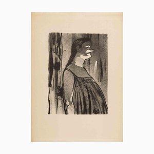 Henri De Toulouse Lautrec, Ms. Abdala, Original Lithograph, 1893