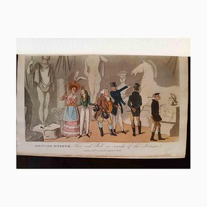 Real Life in London, Book Illustrated by Thomas Rowlandson, 1820s