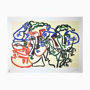 Sandro Chia, Untitled, Original Lithograph, 2008