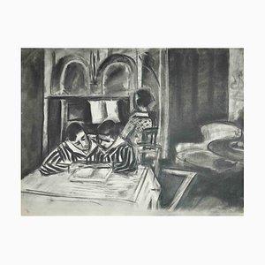 Interior Scene, Original Photorype Print After Henri Matisse, 1933