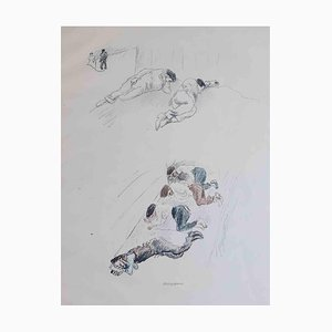 Ein Sommer, Rare Book Illustrated by Jules Pascin, 1920