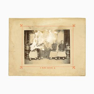 Unknown, Ancient Hang Cheong, Vintage Albumen Print, 1890s