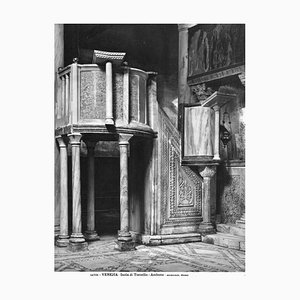 Unknown, Ambone, Cathedral of Torcello, Vintage Photo, Early 20th Century