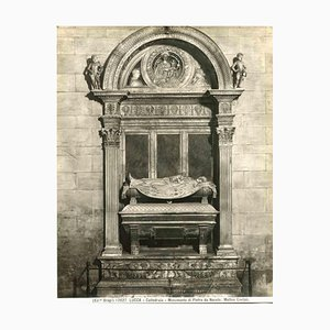 Unknown, The Cathedral of Lucca, Monument of Pietro Da Noceto, Vintage Photo, Early 1900s