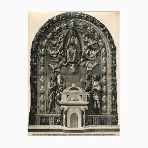 Unknown, Assumption of Mary, Monache Church, Barga, Vintage Photo, Early 1900s