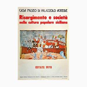 Unknown, Risorgimento and Society, Original Offset Print, 1978