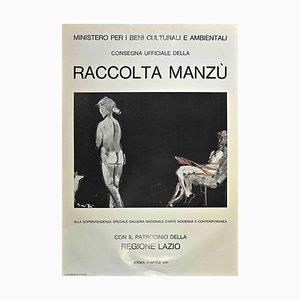 Manzu Collection, Original Offset Print After Giacomo Manzu, 1981