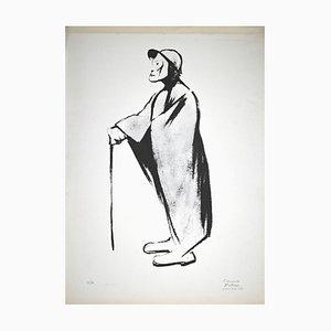 Pietro Morando, The Warm One, Original Lithograph, 1950s