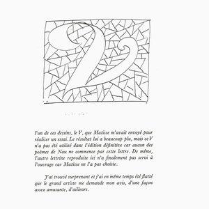Le V, Lithograph, Henri Matisse, 1982