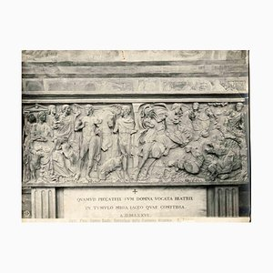 Unknown, Sarcophagus of Countess Beatrice, Pisa, Vintage Photo, Early 1900