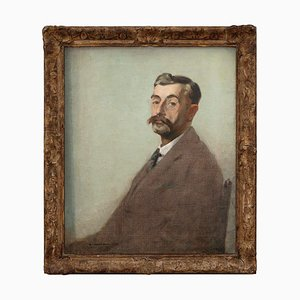 George Wright Hall, Portrait of a Man