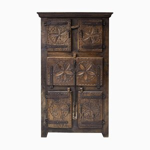 19th Century Folk Art Cabinet