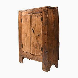 Folk Art Storage Cabinet from the Auvergne, France