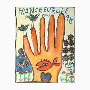 Jaber El Mahjoub, France Europe Vous, 1998