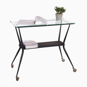 Side Table or Serving Trolley from Rama Torino, Italy, 1950s