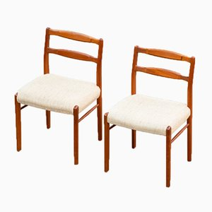Vintage Scandinavian Chairs, Set of 2