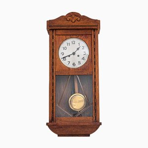 Antique Wall Clock, Western Europe, 1910s