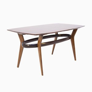 Vintage Italian Dining Table in Wood, 1950s
