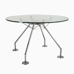 Vintage Model Nomos Table by Norman Foster for for Modern Tecno, 1980s
