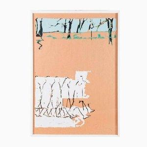 Mario Schifano, Tribute to Balla, Color Screen Printing on Paper