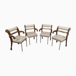 Job Chair by Heinz Julen, Set of 4