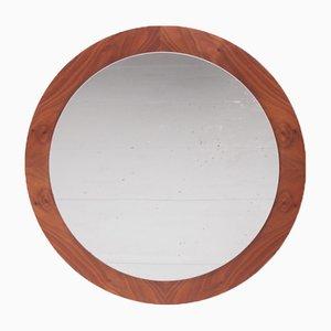 Large Danish Round Wall Mirror