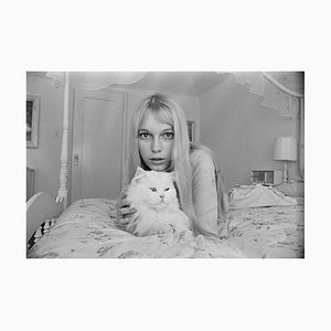 Mia Farrow Pigment Fine Art Baryta Unframed by Harry Benson