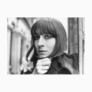 Anjelica Huston Fine Art Baryta Print by Evening Standard