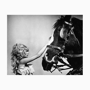 Brigitte Bardot Pigment Fine Art Baryta Print by Archive Photos