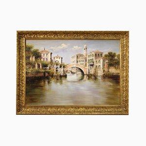Italian View of Venice Painting