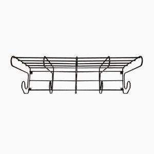 Wall Coat Rack with Shelf from IKEA, 1980s