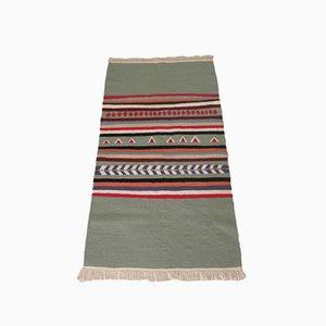 Vintage Kilim Flatweave Wool Rug