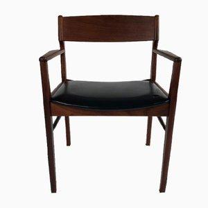 Vintage Danish Desk Chair, 1960s or 1970s