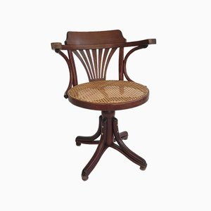 Bentwood Paymaster Swivel Chair