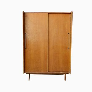French Modernist Reconstruction Armoire, 1950s