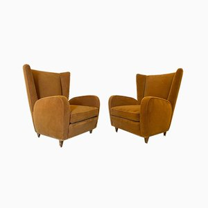 Armchairs by Paolo Buffa, 1950s, Set of 2
